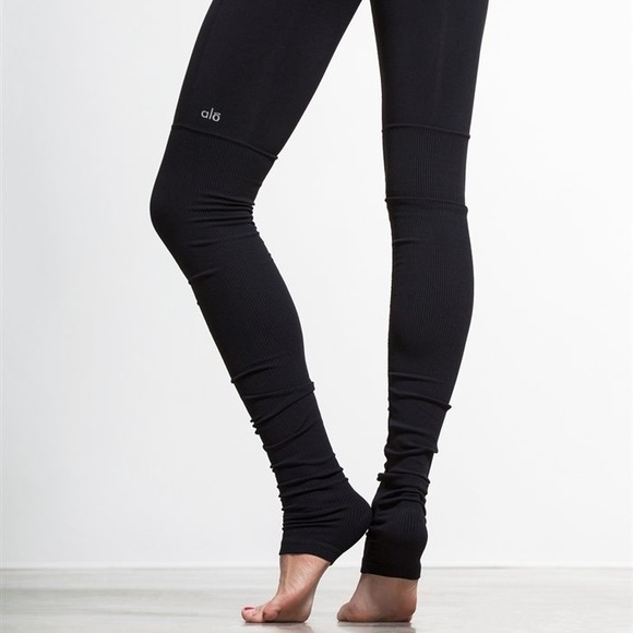 2bbe9973604da ALO Yoga Pants | Goddess Ribbed Legging | Poshmark
